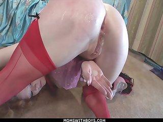 Fiery Redhead MILF Audrey Hollander Anal Fuck