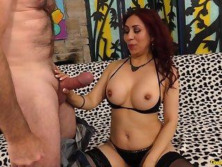 Mature Latina Claudia Fox Rides Cock