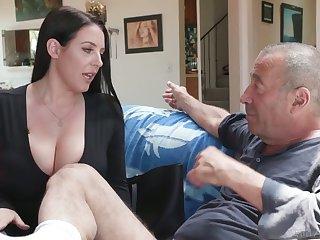 Legendary bastard Rocco fucks the shit out of asshole belonged to Angela White