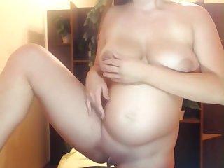 Pregnant Romanian Skype Show Webcam