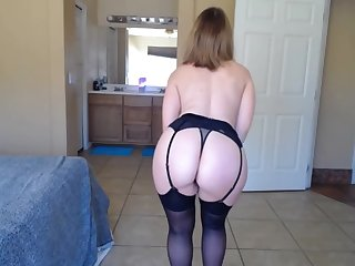 Sexy Milf Stripping For Cam