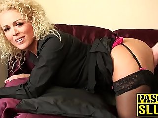 There is nothing better for blonde madam than a hard sex with her lover