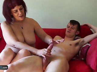 AgedLovE Hard Sex Coitus With Housewife Lady Compilation