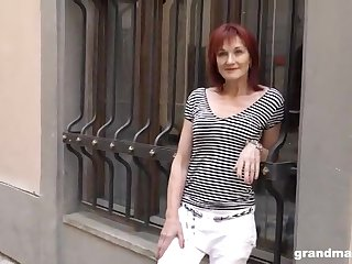 Old Lady Creampie Grandmam - mother I´d like to get laid