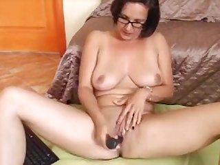 My Mia Dilldo doggystyle on our webcam.