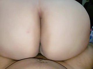 Big Booty Beauty - POV MILF Wife Ass Bouncing