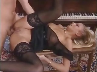 Delfynn Delage Gets Got Laid By The Piano Teacher