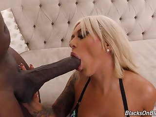 Giant Black Rod In Her Rear End - brandi bae hard MILF sex clip