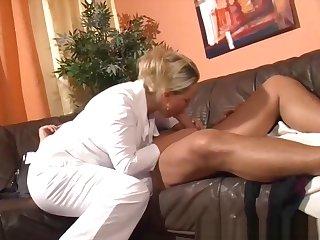 327 Busty German Nurse Rides Patient's Dick