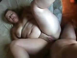 Obese Brazilian blond hair lady's amateur sex nail
