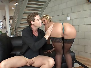 Phoenix Marie shows her flexible body during the amazing fuck with a dude