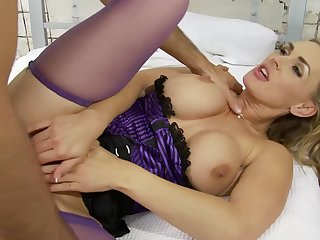 Hardcore sex by strong and fat dick is all that Tanya Tate needs