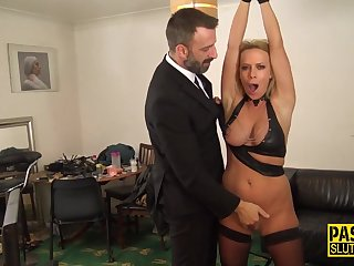 Bound mother i´d like to fuck sub rides male stick