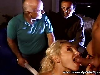 Horny Married Wife Cheats With Her Husbands Approval