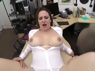 Tall thick ass Foxy Business Lady Gets Fucked!