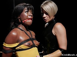 Huge rear end Mommy anal sex bangs ebony slave