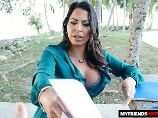 Cuban milf Julianna Vega is fucked by stepson's friend in hot POV scene