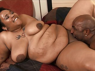 Seductive Big Black Momma Gets Stuffed With  - august ames