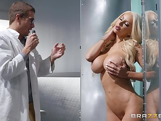 after dick eating Nicolette Shea can't wait to jump on a hard penis