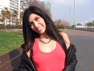 Dirty darkhaired mommy wanna learn how to swallow - eva reina